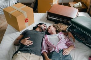 couple thinking about their Inter Alia mortgage