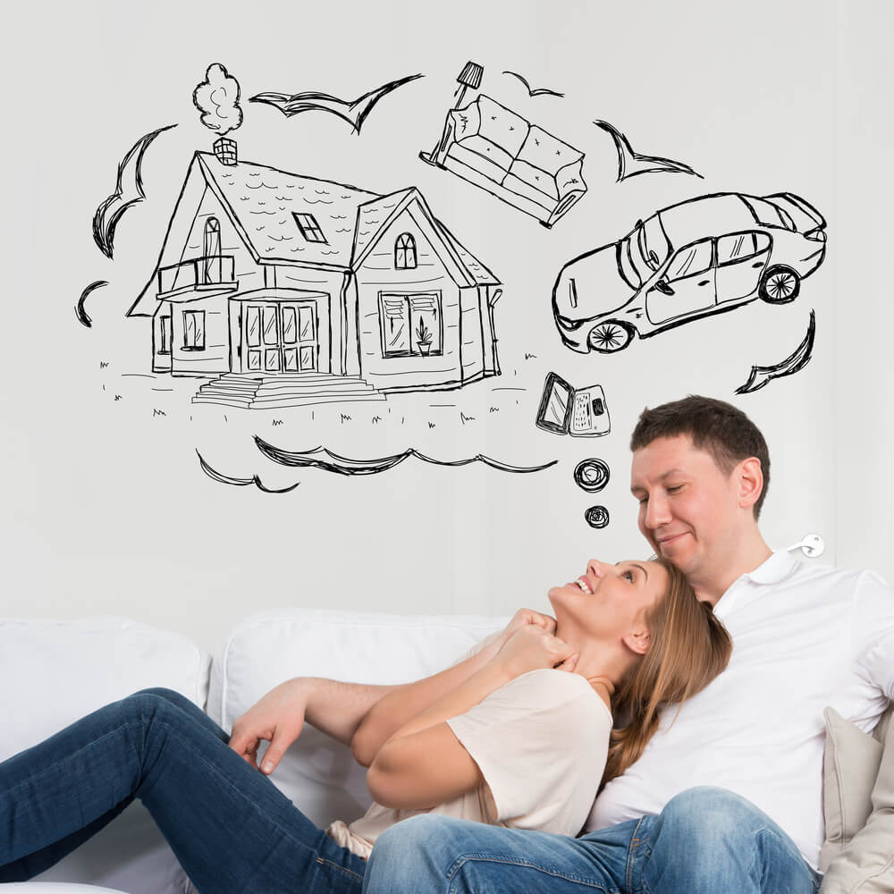 couple dreaming of future with equity loans bc